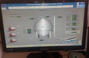 Hệ thống tự động hóa xuất/nhập xăng dầu